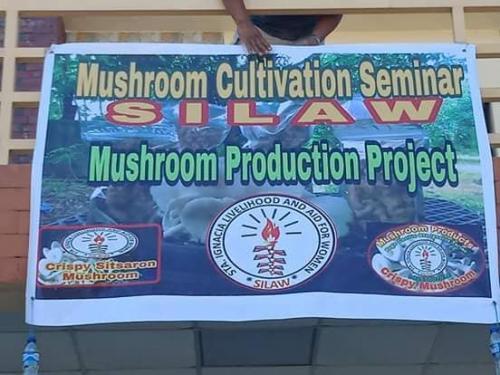 Succesfull Silaw Mushroom Seminar Silaw Mushroom Production Project
