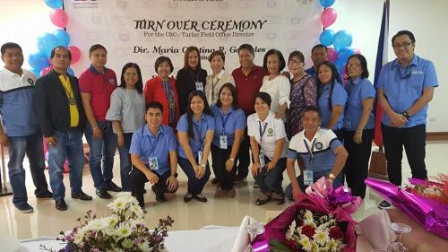 TURN OVER CEREMONY FOR THE CIVIL CERVICE COMMISSION (CSC) - TARLAC FIELD OFFICE