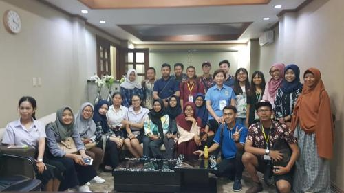 Welcome to our LGU of Santa Ignacia TAU exchange students from Indonesia, Borneo and Thailand! 8/14/1