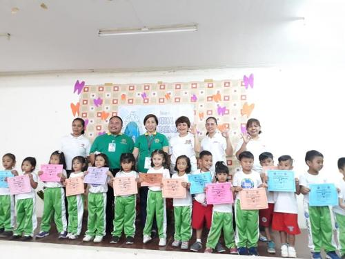 Awarding of Zero Cavities Certificates for the National Oral Heath Month