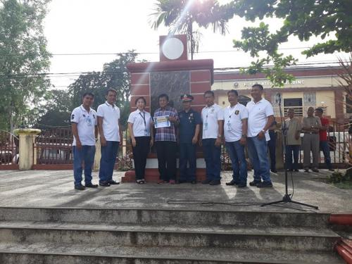 Certificate of Appreciation was awarded to Pob. East, Pob. West and Sta. Ines East