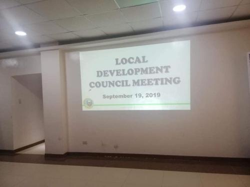 Municipal Development Council Meeting
