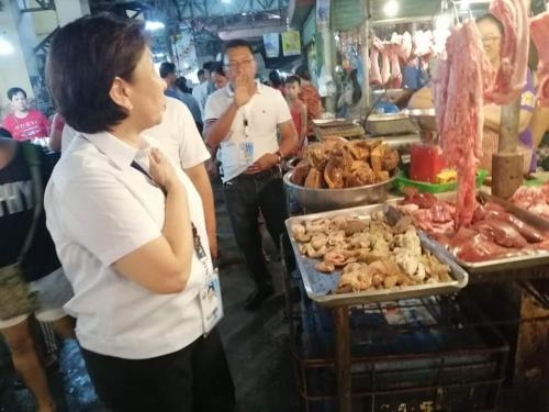 Surprise Inspection at the Public Market and Food Court of Santa Ignacia November 25, 2019