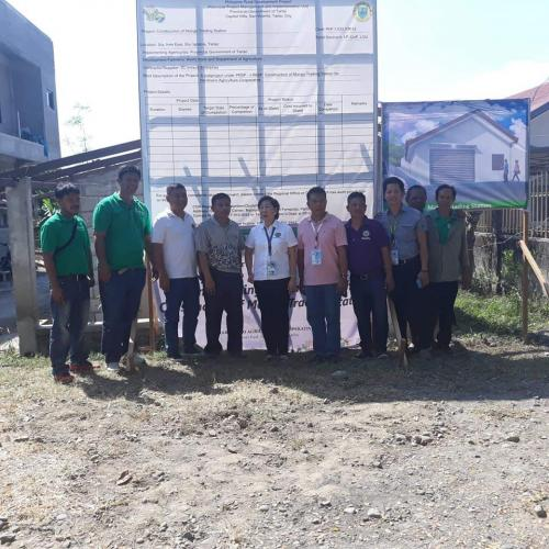 Hardinero Agriculture Cooperative: Groundbreaking Ceremony for the Construction of Mango Trading Station