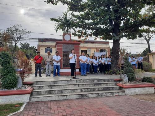 LGU's Sta Ignacia Regular Flag Raising Program February 24, 2020