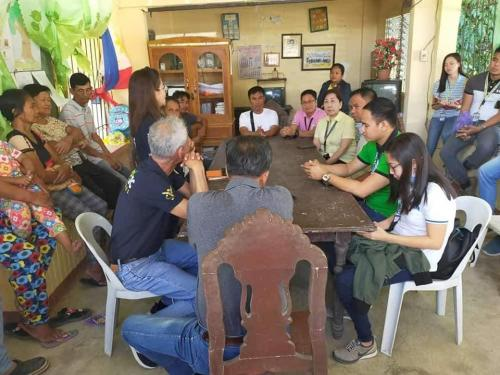 Meeting Regarding the Rehabilition of San Sotero-Calipayan