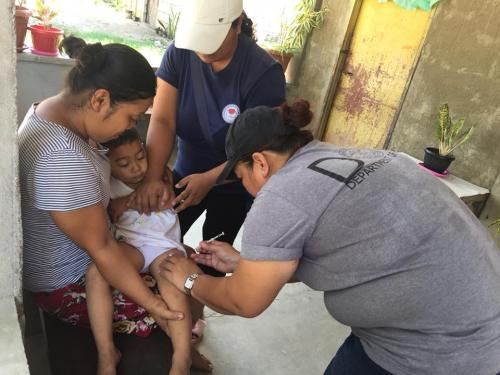 Brgy. Vargas, Santa Ignacia, Tarlac Outbreak Response Immunization (ORI) on Measles April 19, 2018
